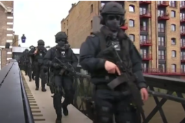 Video: Elitne policijske jedinice u Londonu