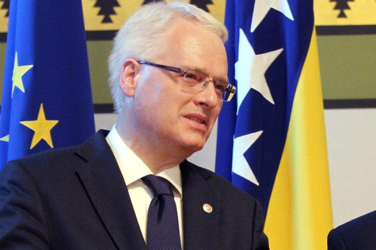 Mržnja i zločin nisu dio čovječnosti, nisu dio civilizacije, rekao je Ivo Josipović (EPA)
