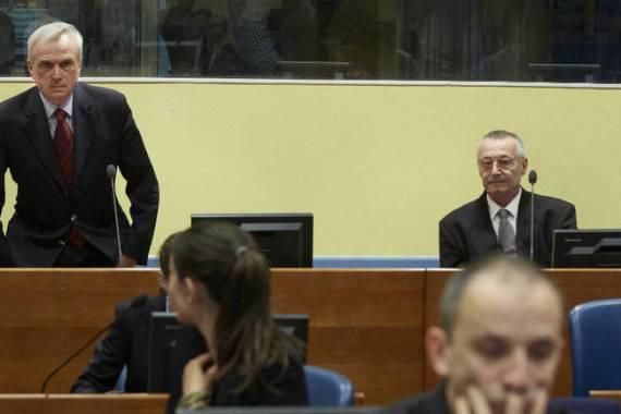 Bivši šef Službe državne bezbednosti Srbije i njegov pomoćnik osuđeni su na 12 godina zatvora (EPA)