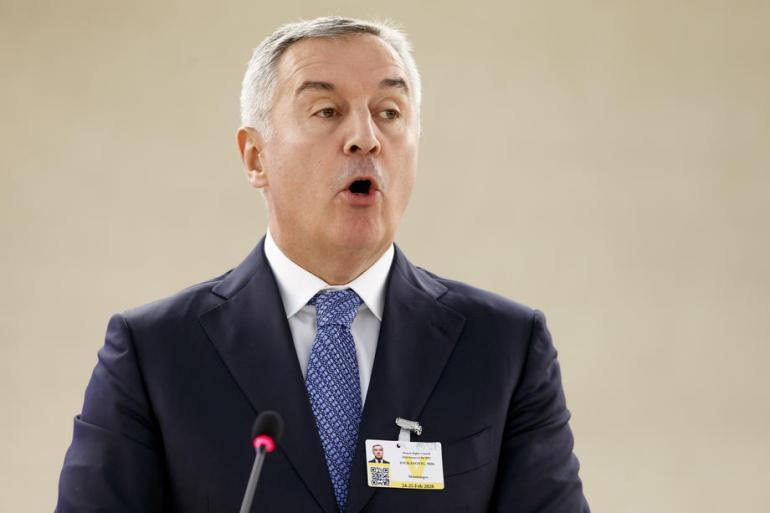 Milo Ðukanović je i ranijih godina učestvovao u komemoraciji srebreničkim žrtvama (EPA)