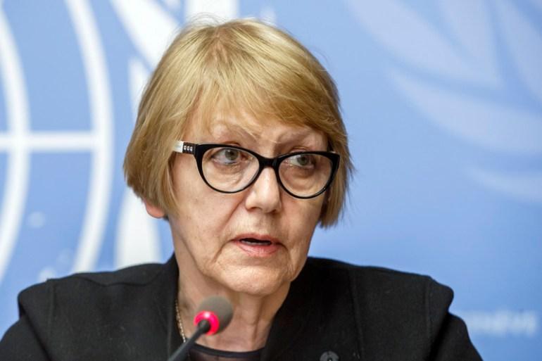 Sonja Bisrko: Otvoreno izvikivanje ratne politike (EPA)