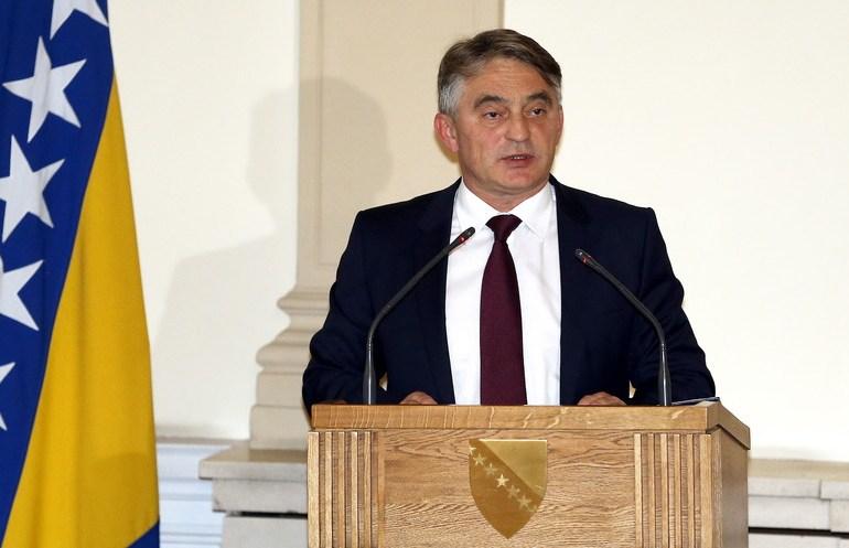 Za slučaj 'Bljesak' može biti samo i isključivo nadležno Tužilaštvo Hrvatske, rekao je predsjedavajući Predsjedništva BiH Željko Komšić (EPA)