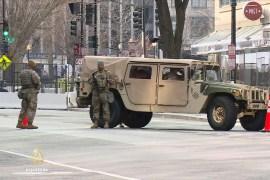 Washington pod opsadom snaga sigurnosti