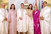 Nekadašnji predsjednik Tunisa Ben Ali s porodicom (Tuniska štampa)
