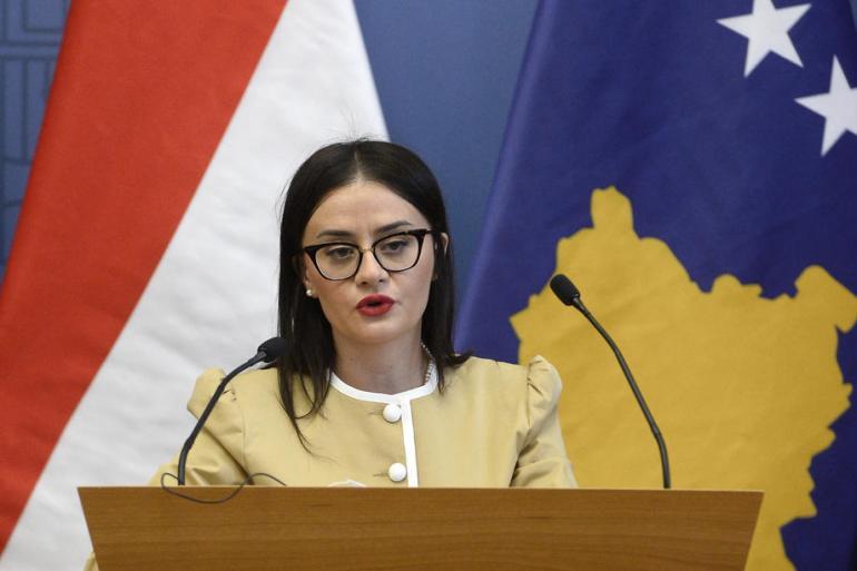 Kosovo je vječno zahvalno SAD-u, kazala je Meliza Haradinaj-Stublla (EPA)