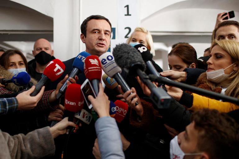 Albin Kurti: Narod je govorio jednim glasom i uzeo svoju sudbinu u svoje ruke (EPA)