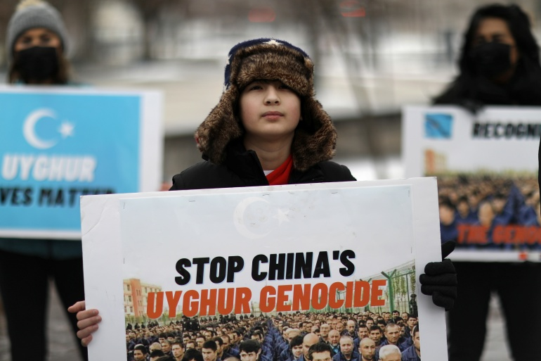 Aktivisti i eksperti UN-a tvrde da je najmanje milion muslimana zatočeno u kampovima (Reuters)