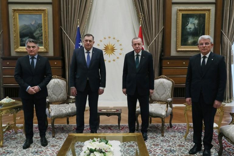 Nakon sastanka članova Predsjedništva BiH s Erdoganom bit će održan i sastanak delegacija Turske i BiH (Anadolija)