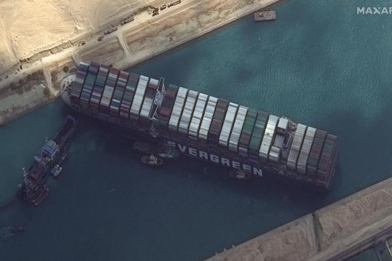 Suecki kanal: Vidljivi rezultati oslobađanja zaglavljenog broda