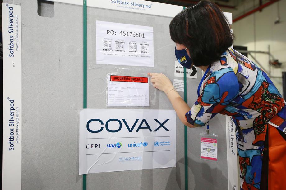 COVAX će tražene doze isporučiti u prvoj polovini 2021.