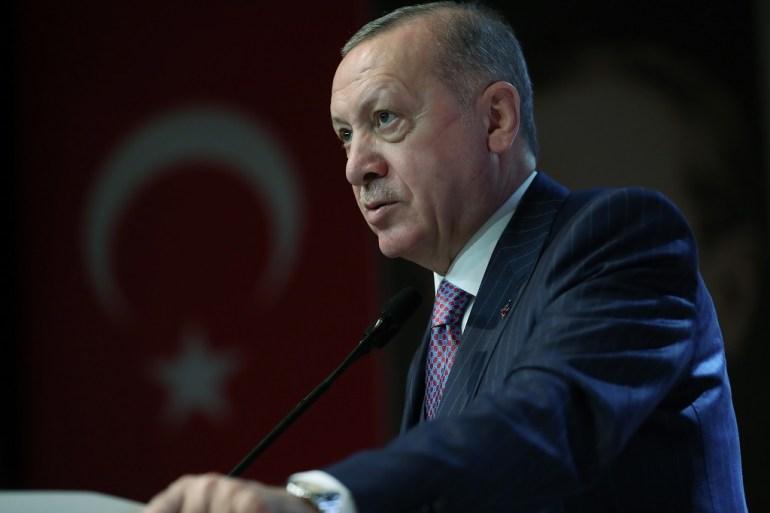 Erdogan istakao da će tokom samita razgovarati i sa predsjednikom Francuske Emmanuelom Macronom (Anadolija)