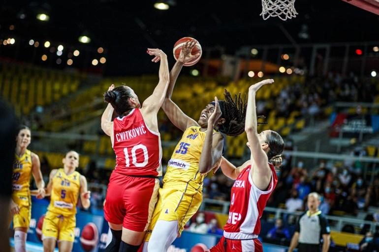 Najbolja na terenu bila je bh. reprezentativka Jonquel Jones sa 24 poena, 15 skokova i pet asistencija (FIBA)