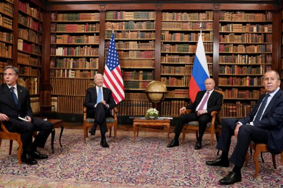Američki predsjednik Joe Biden i ruski predsjednik Vladimir Putin održali su sastanak 16. juna 2021. u Ženevi (Reuters)