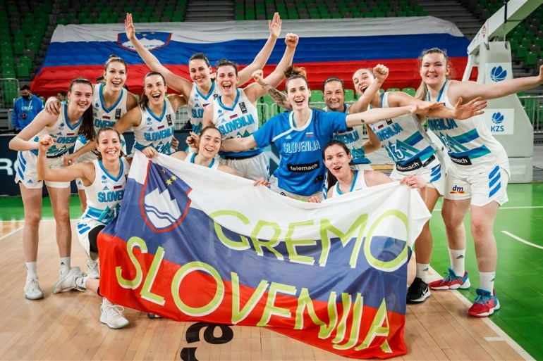 Narednih dana slovenske djevojke idu na EP u Strasbourg (FIBA)