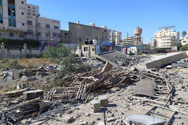 Dio razaranja u izraelskim napadima na Gazu tokom posljednjeg sukoba (Al Jazeera)
