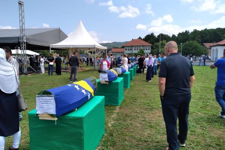 U Prijedoru je '90-ih godina ubijeno 3.176 civila, uglavnom nesrpske nacionalnosti, a ubijeni Prijedorčani ekshumirani su na oko 500 lokacija (Anadolija)
