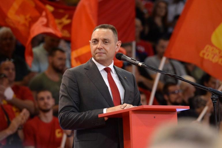 Objediniti sve Srbe u jednu državu, zadatak je njegove generacije političara, rekao Aleksandar Vulin (Tanjug)
