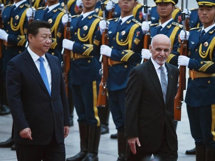 Službenici u Kabulu rade s kineskim vlastima na produženju Kinesko-pakistanskog ekonomskog koridora (Getty)