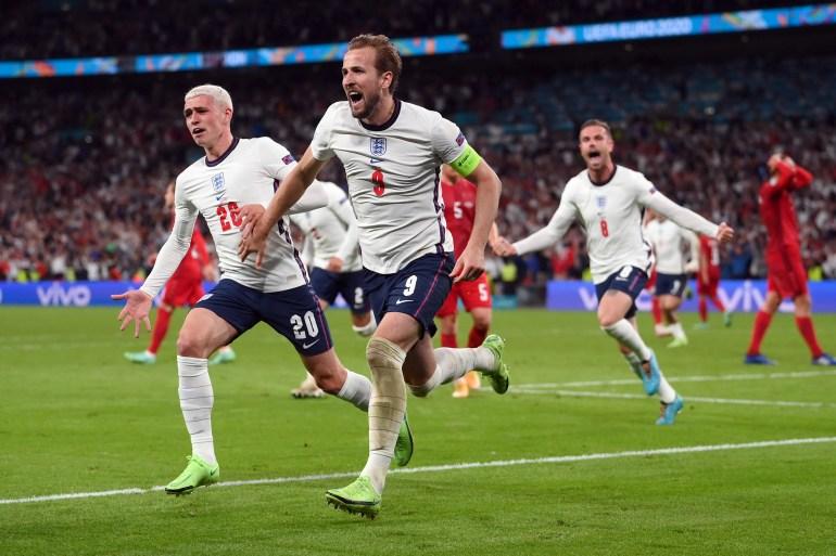 Harry Kane je u 104. minuti postigao gol odluke za Englesku (Reuters)