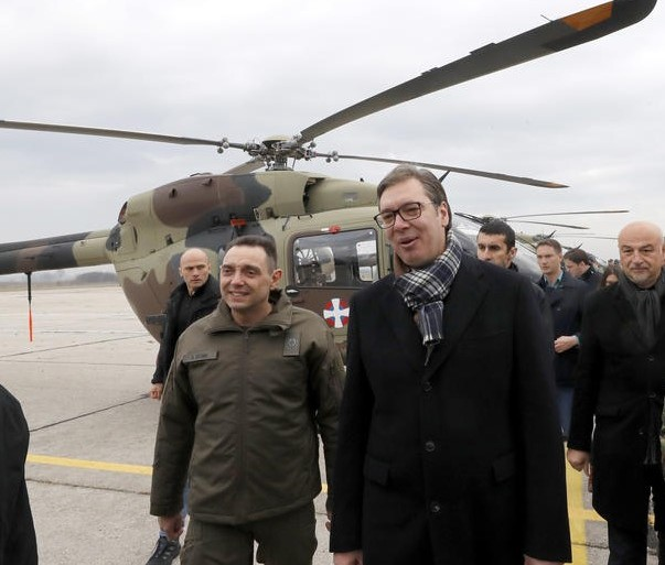 Vulin je, javno i u direktnom prenosu na najglasnijem Vučićevom megafonu, i ponovo u prisustvu predsjednika Srbije glasno ponovio svoje snove o 'srpskom svetu' (EPA - Ilustracija)