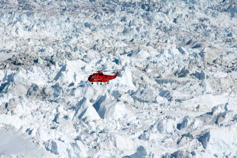 """U srijedu su temperature zraka iznad Grenlanda bile """"zabrinjavajuće"""", poručili su iz EU, pri čemu se temperature u Constable Pyntu, na istoku otoka, dosezale čak 23,2 celzijevih stepeni (EPA)"""