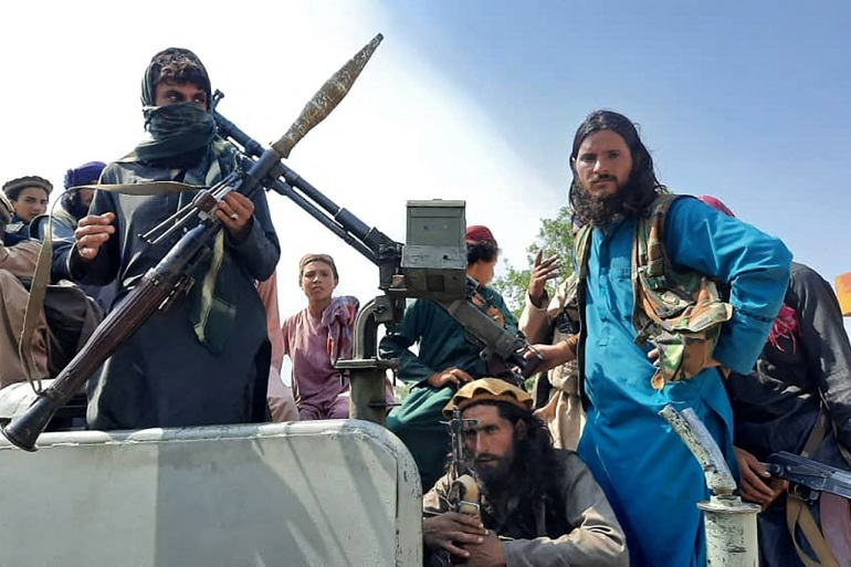 Talibanski borci do sada su zauzeli veliki dio sjevernog, zapadnog i južnog Afganistana (AFP)