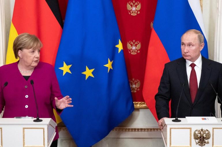 Angela Merkel je zadnji put bila u Moskvi u januaru 2020. godine (Reuters)