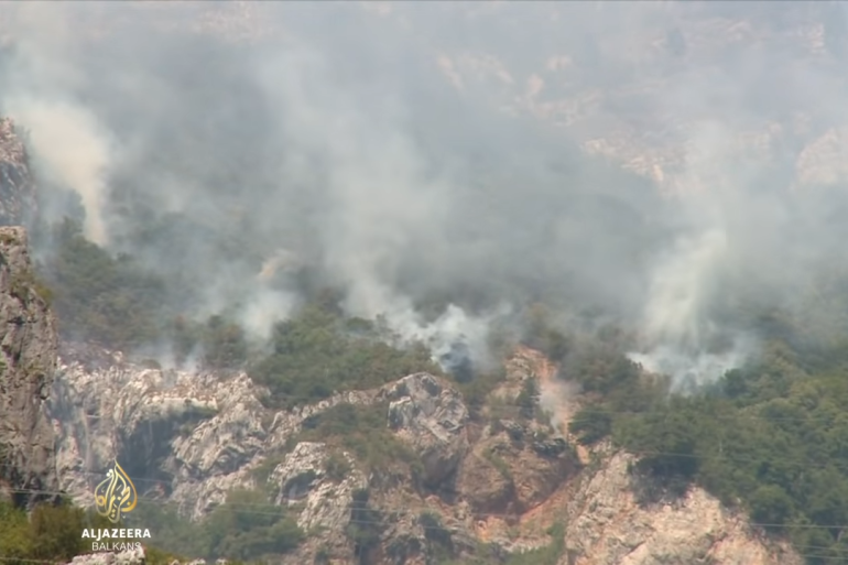 Požari bijesne diljem BiH a Milorad Dodik blokira upotrebu vojnih helikoptera za gašenje (Al Jazeera)
