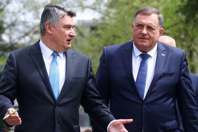 Jasno je da je Dodik u kutu i da je i sam svjestan da bi njegova karijera mogla završiti preko noći, a da ga pritom niti u Banja Luci niti u Beogradu, a niti u Moskvi, koja ga sada huška na nerazumne poteze, nitko neće oplakivati (EPA)