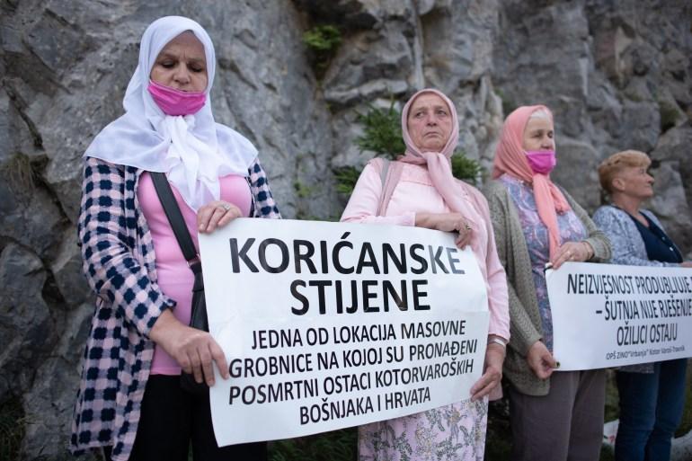 Porodice ubijenih, preživjeli i članovi Saveza logoraša u BiH proučili su Fatihu i odali počast stradalim (Anadolija)