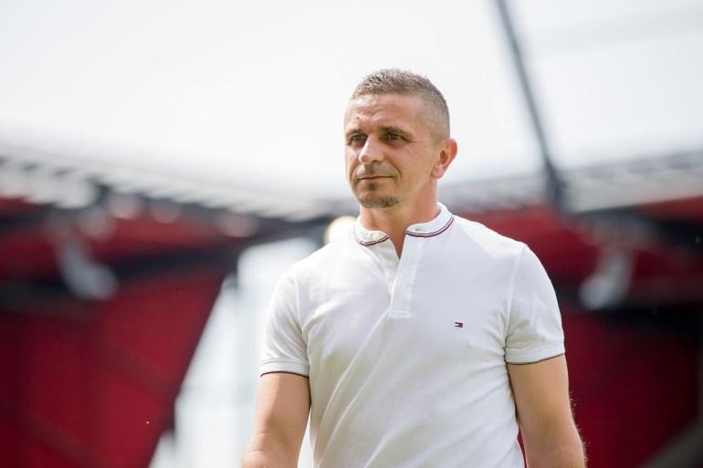Mersad Selimbegović, trener Jahn Regensburga, jedini je glavni trener iz regiona u njemačkom profesionalnom nogometu (Getty Images)