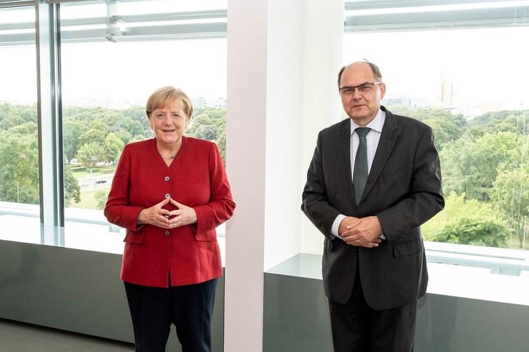 Christian Schmidt je zahvalio kancelarki Angeli Merkel na snažnoj podršci njegovom mandatu (Ustupljeno Al Jazeeri)