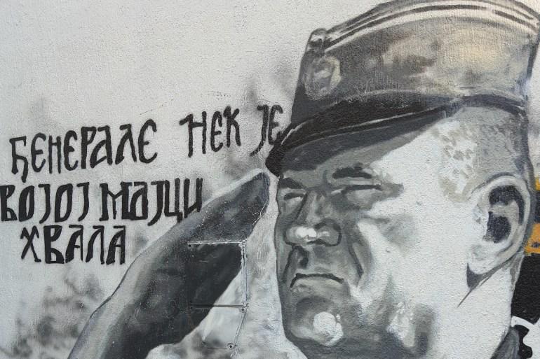 'Moramo da izbrišemo Mladića sa liste heroja i da ga lociramo u onaj kazamat sa rešetkama gde mu je doživotno mjesto' (Ustupljeno Al Jazeeri)