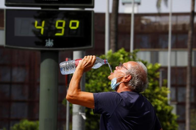 Kombinirana temperatura u julu 2021. na zemlji i površini okeana bila 1,68 stepeni viša od prosjeka 20. stoljeća (EPA)
