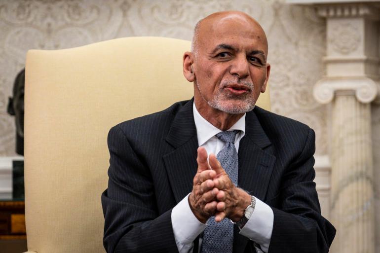 Ashraf Ghani postao je predsjednik Afganistana 2014. godine, a preuzeo je vlast od Hamida Karzaija (EPA)