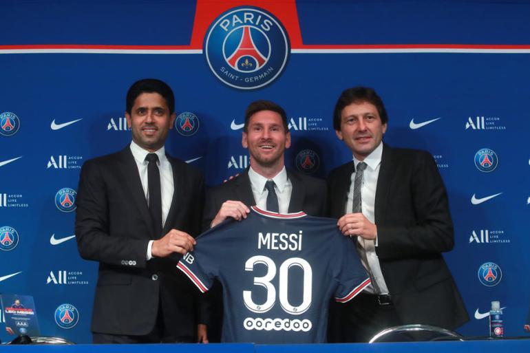 """Messi se zahvalio upravi PSG-a na tome što su """"brzo i lako sve riješili"""", te je dodao da je sretan što je u ambicioznom klubu (EPA)"""