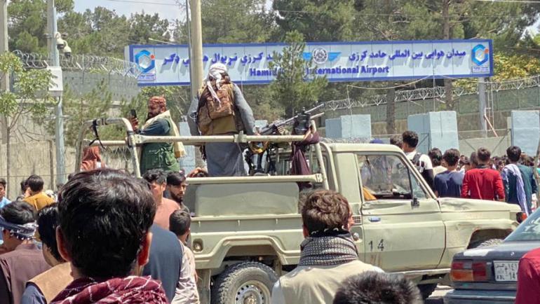 Talibani su zatvorili prilaze aerodromu (EPA)