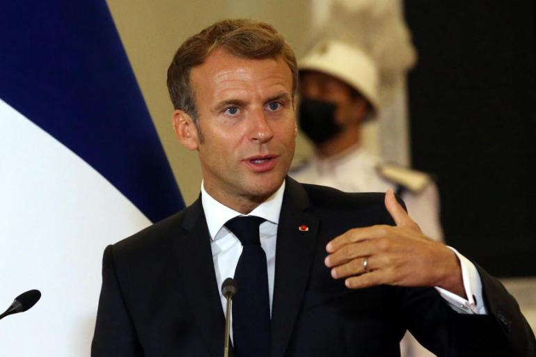 """""""Da li je prije francuske kolonizacije postojala alžirska nacija"""", upitao se Macron (EPA)"""
