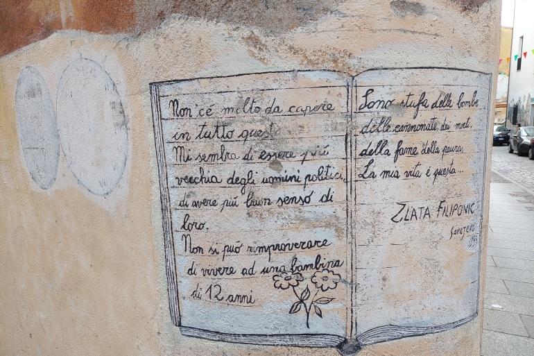 Ratni dnevnik sarajevske djevojčice usred Sardinije