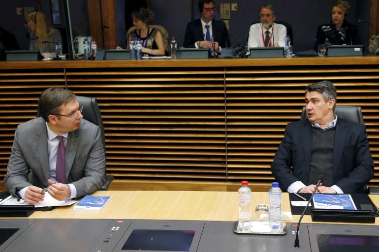 Vučić i Milanović produciraju oprobani igrokaz da skrenu pažnju sa pokušaja čerupanja Bosne i Hercegovine (Reuters)